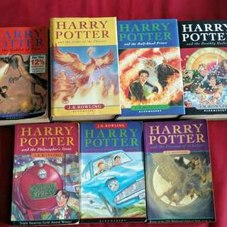 Harry Potter Book Series 1-7