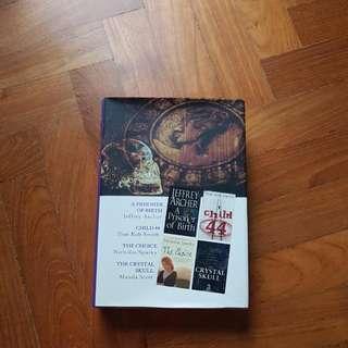 4 Books In 1 Volume: Jeffrey Archer/Nicholas Spark/Tom Rob Smith/Manda Scott