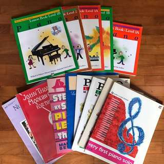 Piano Books ALL FOR $15 ONLY