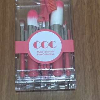 Coringco Make Up Brush (Pink Collection)