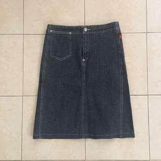 Esprit Highwaist Denim Skirt