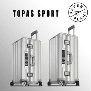 【PAPERPLANE】ETAG l RIMOWA tOPAS Sport Series 923/4.75/80.005 行李箱 旅遊 旅行
