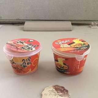 方便麵擦膠鉛筆鉋 Instant Noodles Rubber and sharperner