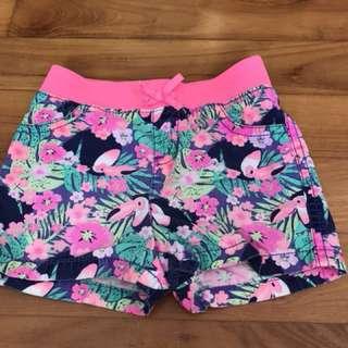 PL Floral Shorts