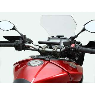 Yamaha MT-09 Tracer GPS / Phone Mount Bar