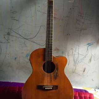 Used Cole Clark Electric-Acustic Guitar Good Condition