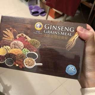蔘龍人蔘谷糧營養餐(20包)