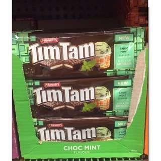 🐨澳洲代購💗Tim Tam Choc Mint 薄荷朱古力味🍫