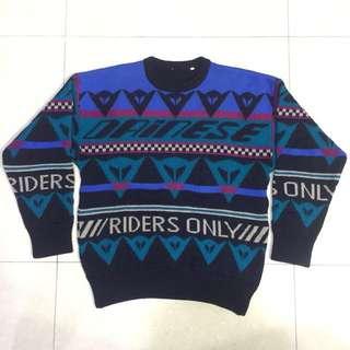 Dainese 🇮🇹 Vintage Wool Sweatshirt. NFS.