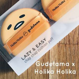 Gudetama x Holika Holika make up puff