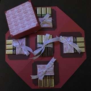 Handmade Chocolate Explosion Box
