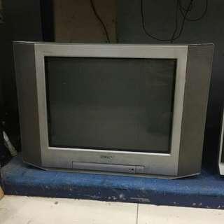 Tv 21 Inchi Sony, Trinitron, Slim, Flat, Murah!