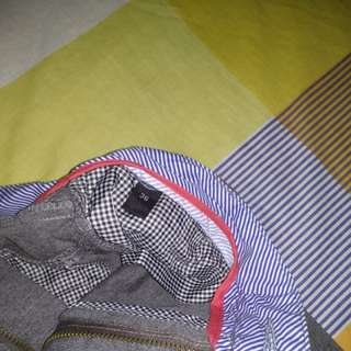 Grey office pants from Graphite.