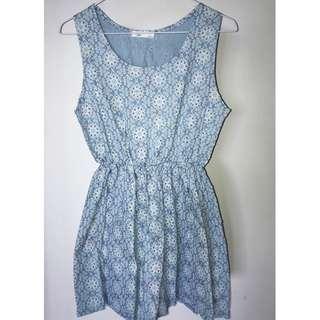 Ang Vely Denim dress