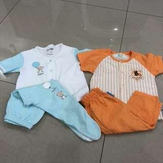 2sets baby wear (6-12 mths)