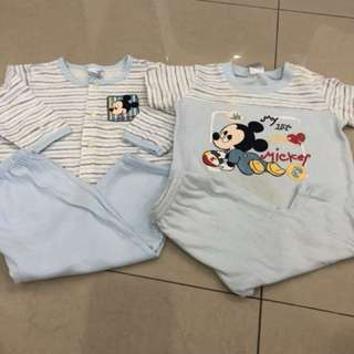 2 sets baby wear (6-12 mths)