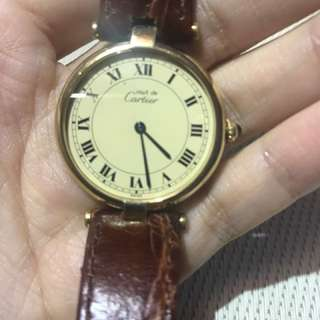 CARTIER 卡地亞 女裝手錶復古