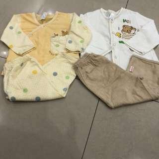 2 sets baby wear (3-6mths)