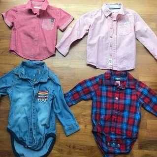 1 to 2 yrs Boy Clothings