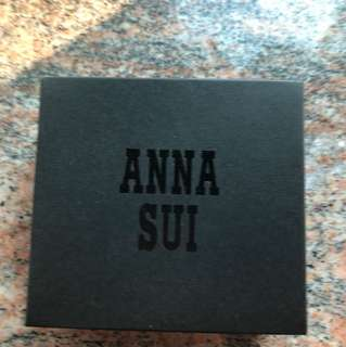 Anna Sui 原裝正版連盒紅色經典蝴蝶銀包