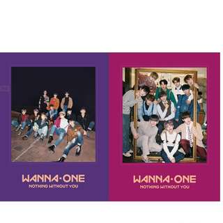 Wanna One Nothing Without You Album Wanna/One ver