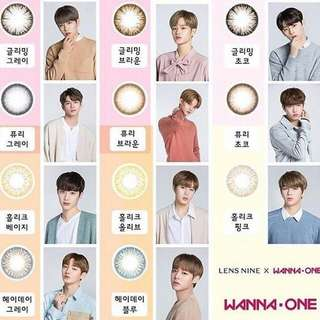 (PREORDER)Wanna one Lens