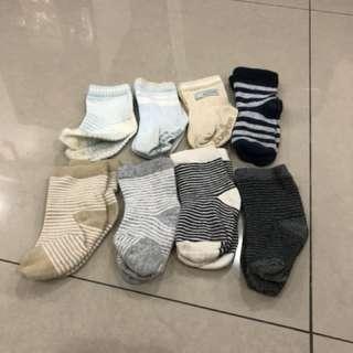 8 sets Baby Socks (7-10cm)