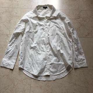 Zalora White Shirt