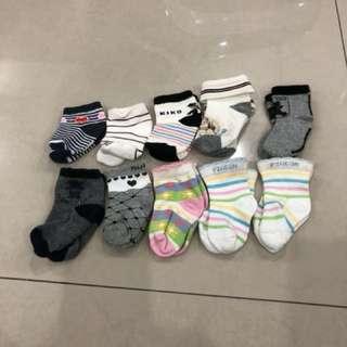 10 sets Baby Socks (5-8 cm)