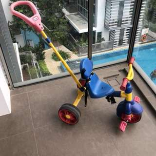 Little Tikes Tricycle with handle
