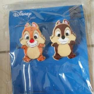 BN Disney Chip&Dale Clip Bookmark