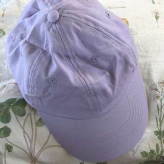 Purple dad cap