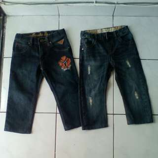Both branded pants rm 30