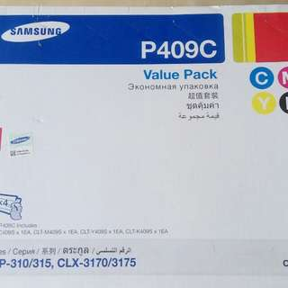 Samsung Toner Cartridge P409C [C409 (Yellow), M409 (Magenta), Y409 (Yellow), K409 (Black)]