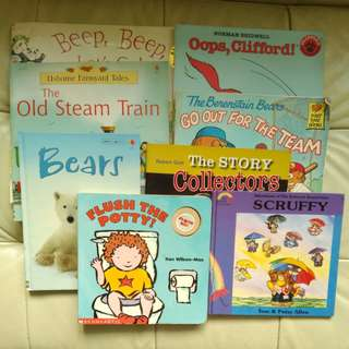 Big story books for children x8