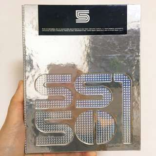 SS501 5周年專輯 CD destination special ver