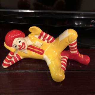 Ronald McDonald Coin Bank
