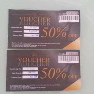 2L Fashion & Beauty 50% Voucher