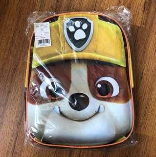 Nickelodeon Paw Patrol Rubble Eva 3D backpack bag