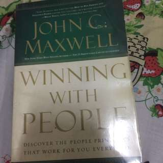 Winning with People by John C Maxwell - Paperback