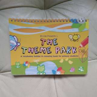 The theme park drawing book