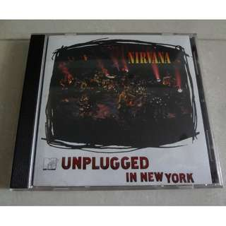Nirvana CD Unplugged In New York