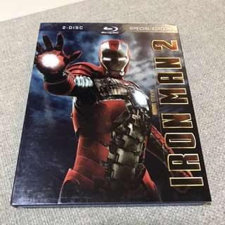 Iron Man 2 2-disc Bluray