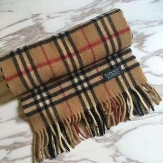 Burberry scarf long