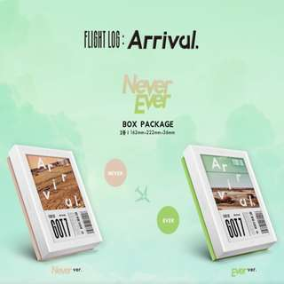 Got7 Flight Log:Arrival Album Never/Ever ver #CNY88