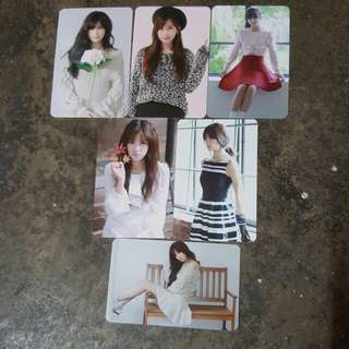 Apink chorong pink luv official photocard set
