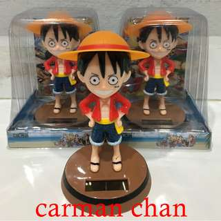 ONE PIECE CHOPPER SOLAR POWERED DANCING FLIP FLAP HOME CAR OFFICE TOY