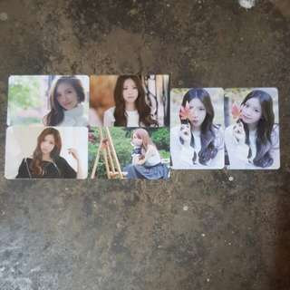 Apink naeun pink luv official photocard set