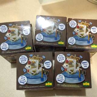 One piece wobbling pirate ship collection