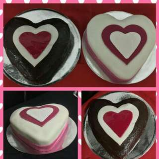 Mini Heart Shaped Cake